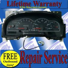 Buy 99 00 01 02 03 FORD WINDSTAR CLUSTER SPEEDOMETER REPAIR SERVICE READ LISTING