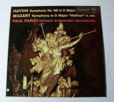 Buy HAYDN / MOZART ~ Paul Paray & Detroit Symphony Classical LP