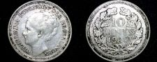 Buy 1928 Netherlands 10 Cent World Silver Coin