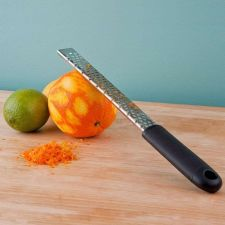 "Buy 13"" Stainless Steel Grater Zester Citrus Lemon Orange Cheese Ginger Grate Zest"