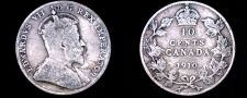 Buy 1910 Canada 10 Cent World Silver Coin - Canada - Edward VII
