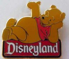 Buy Disneyland Winnie the Pooh Character Sign Pin/Pins