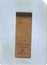 Buy New York Buffalo Matchcover Thhe Twentieth Century Club ny_box4~2494
