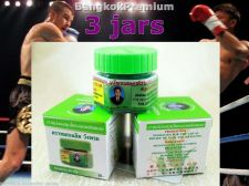 Buy 3x Green Balm Herbal Natural Muay Thai Pain Swell Relief Inhale Tiger WangProm