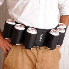 Buy Joe Sixpack Beer Belt - Free Personalization