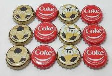 Buy COCA COLA COKE BOTTLE CAP FOOTBALL SMILE FANTA 2014 THAILAND X 12 CAPS