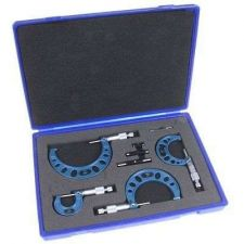 "Buy MICROMETER SET Anytime Tools Premium 0-4""/0.0001"" Precision Machinist Tool Lab"