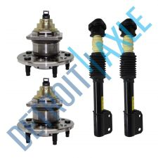 Buy Set: 2 REAR Wheel Hub Bearing - w/ ABS + 2 Complete Ready Strut - Regal Lumina