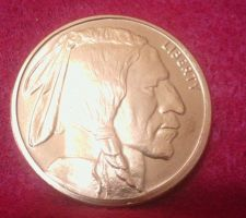 Buy 1 oz Copper Round - Indian Head