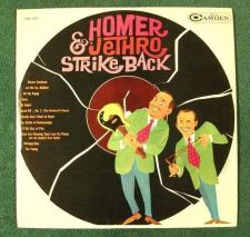 "Buy HOMER & JETHRO ~ "" Homer & Jethro Strike Back "" 1961 County LP"