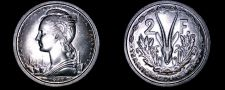 Buy 1948 Cameroon 2 Franc World Coin - French Admin