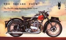 Buy ARIEL SQUARE FOUR 4 MOTORCYCLE SERVICE & PARTS MANUALs 100pgs with Brochure Art