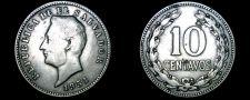 Buy 1951 El Salvador 10 Centavo World Coin