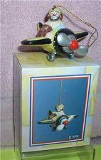 Buy Emmett Kelly Jr. Airplane Pilot circus clown Flambro MIB ornament