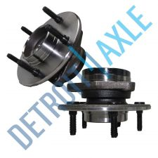 Buy 2 New FRONT Driver and Passenger Wheel Hub and Bearing - No ABS - 4WD