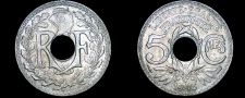 Buy 1918 French 5 Centimes World Coin - France