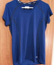Buy NWOT Marmot Dark Blue Workout/running/yoga/cycling Fitted Shirt!