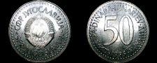 Buy 1985 Yugoslavia 50 Dinara World Coin
