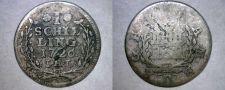 Buy 1726-IHL German States Hamburg 1 Schilling World Silver Coin