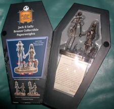 Buy Nightmare Before Christmas - Jack and Sally - NMBC - Bronze - First Limited Ed.