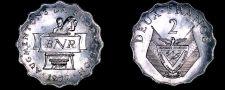 Buy 1970 Rwandan 2 Franc World Coin - Rwanda