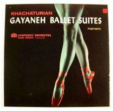 Buy KHACHATURIAN ~ Gayaneh Ballet Suites Rias Symphony Orch. LP