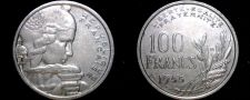 Buy 1955-B French 100 Franc World Coin - France
