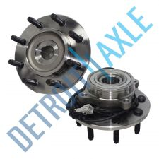 Buy Pair: 2 New FRONT Driver and Passenger Wheel Hub Bearing - w/ ABS - 4WD