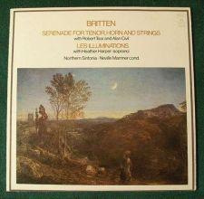 Buy BRITTEN ~ Serenade For Tenor, Horn and Strings / Les Illuminations LP