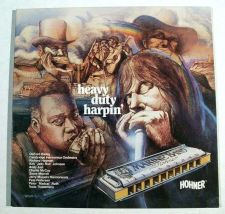 Buy HEAVY DUTY HARPIN' ~ Various Artists 1984 Pop / Blues / Jazz LP
