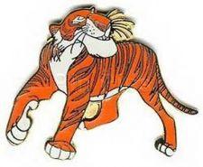 Buy Shere Khan tiger Jungle Book full body Disney Authentic pin/pins