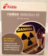 Buy Kidde Radon Gas Detection Test Kit - NEW - Assure Your Family's Safety!