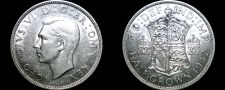 Buy 1942 Great Britain Half Crown World Silver Coin - UK - England
