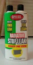 Buy NEW Radiator 2-Part Stop Leak Advanced with UV dye by Super Seal 113-RD 12 oz.