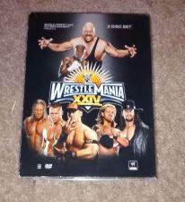 Buy WRESTLEMANIA 24 DVD (3 disc set) WWE WWF Floyd Mayweather RAREOOP
