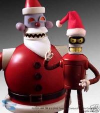 Buy Futurama - Robot Santa and Robot Bender - Two-Pack - Comic Con 08 SDCC