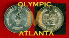 Buy Rare SUBWAY METRO ATLANTA.OLYMPIC 1996. Transit Token.***