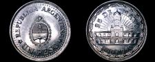 Buy 1960 Argentina 1 Peso World Coin - 1810 Revolution
