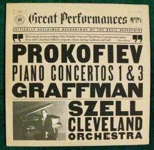 Buy PROKOFIEV Piano Concertos 1 & 3 / Graffman ~ Szell Classical LP