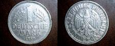 Buy 1950 D German 1 Mark World Coin - Germany