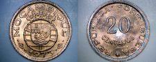Buy 1973 Mozambique 20 Centavo World Coin - Portuguese Colonial