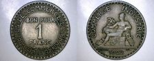 Buy 1922 French 1 Franc World Coin - France