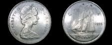 Buy 1975 Canadian Dime 10 Cent World Coin - Canada