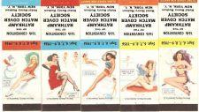 Buy New York New York City Matchcover Set Pin Up / Nudes / Girlie / Glamour Se~142
