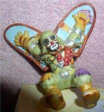 Buy Emmett Kelly Jr. flying circus clown Flambro MIB ornament