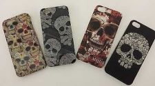 Buy New Fashion Vintage Hard Back Cover Case with Skull Bone for Apple iphone 5 5S