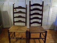 "Buy ladder back chairs 2 different sizes 42"" tall and 45"" tall"