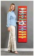 Buy Office Organizer Educational Pocket Chart Classroom Holder Hanging sheets Paper