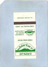 Buy New York Lake Placid Matchcover Whiteface Resort ny_box5~1655
