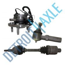Buy 2004-2007 Ford/Mercury Front Left Wheel Hub Assembly +Axle Shaft +Outer Tie Rod